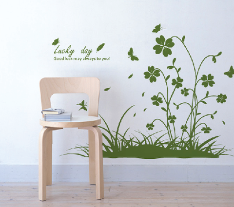 #NG006 Lucky Day - Decal dán tường - 1