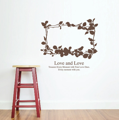 #NG022 Love And Love - Decal dán tường
