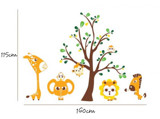 #BC028 Go to the zoo - Decal dán tường - 2