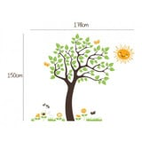 #BC008 Meadow Tree - Decal dán tường - 2