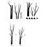 #DT001 Tree Story - Decal dán tường - 2