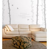 #ND004 Norway Forest - Decal dán tường - 8