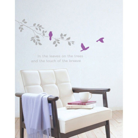 #NB022 Romantic Tree - Decal dán tường - 1