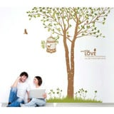 #NT004 Under tree - Decal dán tường - 1
