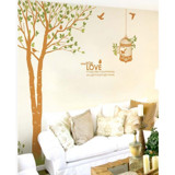 #NT004 Under tree - Decal dán tường - 5