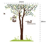 #NT004 Under tree - Decal dán tường - 2