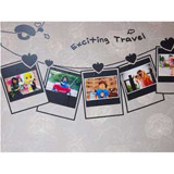 #FF023 Exciting travel - Decal dán tường - 3