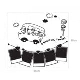 #FF023 Exciting travel - Decal dán tường - 2