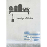 #DK005 Country Kitchen - Decal dán tường - 3