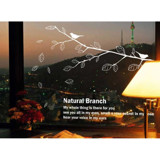 #NB019 Natural Branch - Decal dán tường - 3