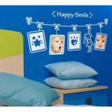 #FF027 Happy Smile - Decal dán tường - 3