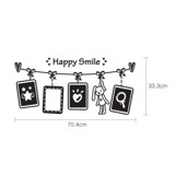 #FF027 Happy Smile - Decal dán tường - 2