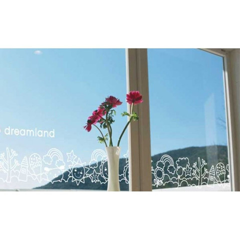#BS013 Go to Dreamland - Decal dán tường - 1