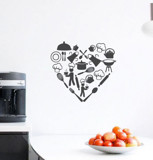 #DK004 Love my kitchen - Decal dán tường - 1