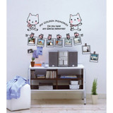 #FF012 My Golden memories - Decal dán tường - 4