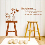 #DL003 Happiness - Decal dán tường - 3
