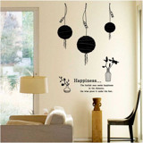 #DL003 Happiness - Decal dán tường - 5