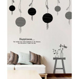 #DL003 Happiness - Decal dán tường - 6