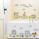 #BC025 Happy Village - Decal dán tường - 4