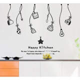 #DK026 Happy Kitchen - Decal dán tường - 5