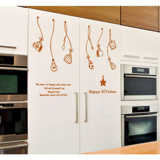 #DK026 Happy Kitchen - Decal dán tường - 6