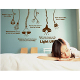 #DL008 Light Up - Decal dán tường - 1