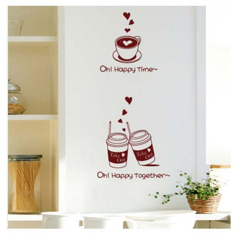 #DC032 Happy Together - Decal dán tường - 1