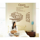 #FH010 Open road - Decal dán tường - 4