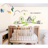 #BC023 Life is wonderful - Decal dán tường - 4