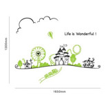 #BC023 Life is wonderful - Decal dán tường - 2