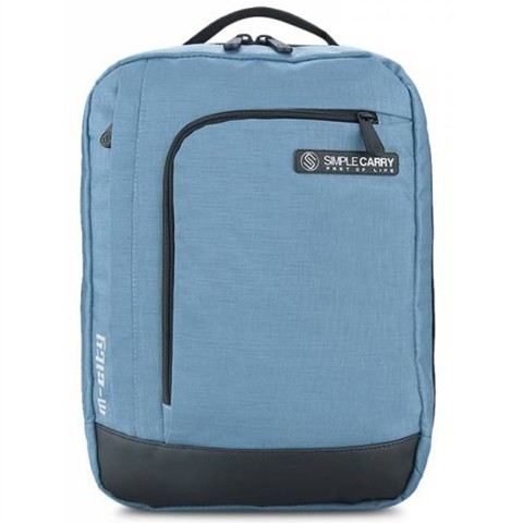 Balo laptop Simplecarry M-city Xanh