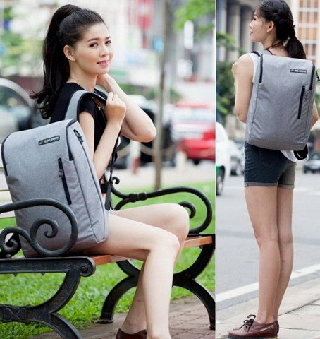 Balo Laptop Simple Carry K3 Grey