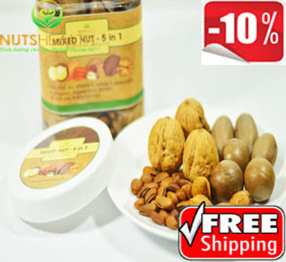 Hạt Tổng Hợp | Mixed in Nuts 5 in 1