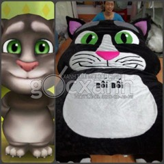 Nệm thú bông mèo Talking Tom Cat Matress (1.8 x 2.2m)