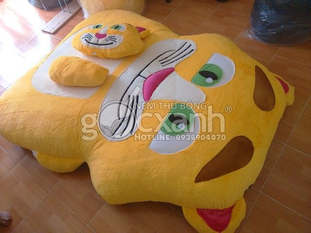 Combo A Nệm mèo Talking Tom (1.8 x 2.2m)