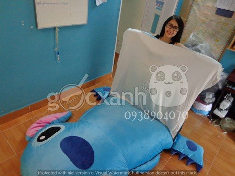 nem thu bong stitch day keo