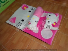 Nệm mỏng Hello Kitty (74 x 120cm)