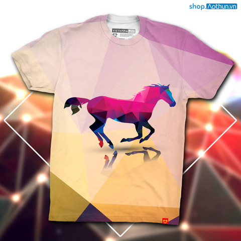 Purple Horse Polygon