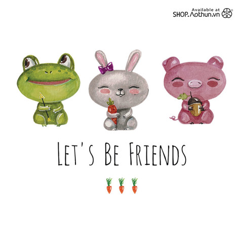 Let's be friends - Carrot