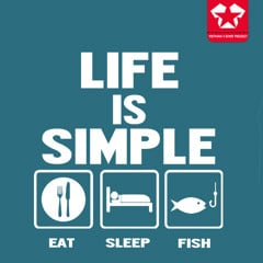 Life is simple - fishing
