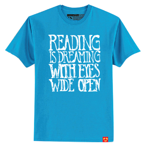 Reading is dreaming with eyes wide open