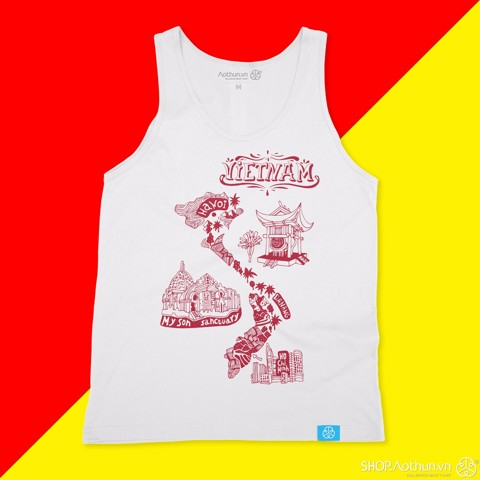 My Vietnam - Red ver - Tank top