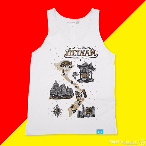 My Vietnam - Black ver - Tank top