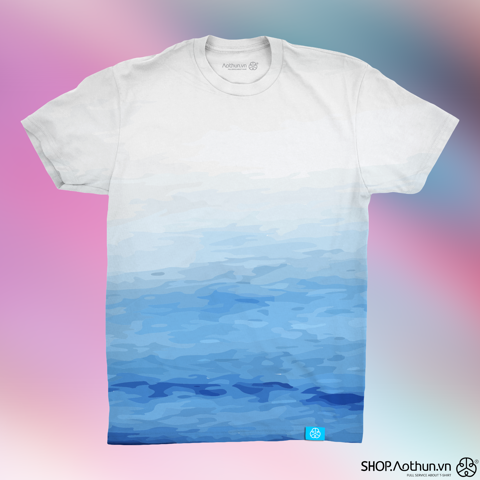Dip Dye Water Color - Xanh ya