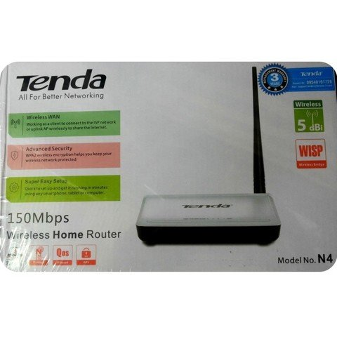 Router Wifi Tenda N4