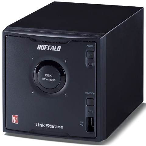 NAS BUFFALO LINKSTATION LS-QVL