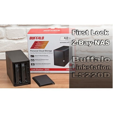 NAS BUFFALO LINKSTATION LS220D
