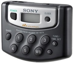 RADIO WALKMAN SONY SRF-M37W