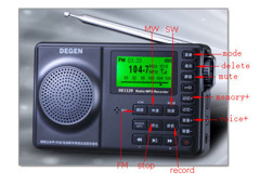 Radio DEGEN DE-1129 ( digital tuning + đọc nhạc MP3)