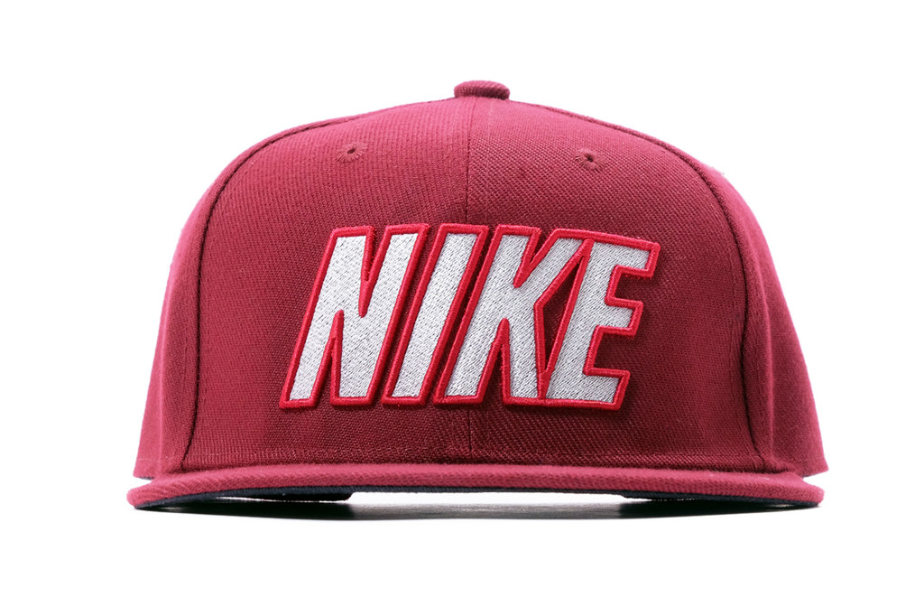 SNAPBACK BIG NIKE - BORDEAUX WHITE
